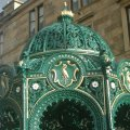 Street Canopied Fountain, Possilpark, Glasgow.